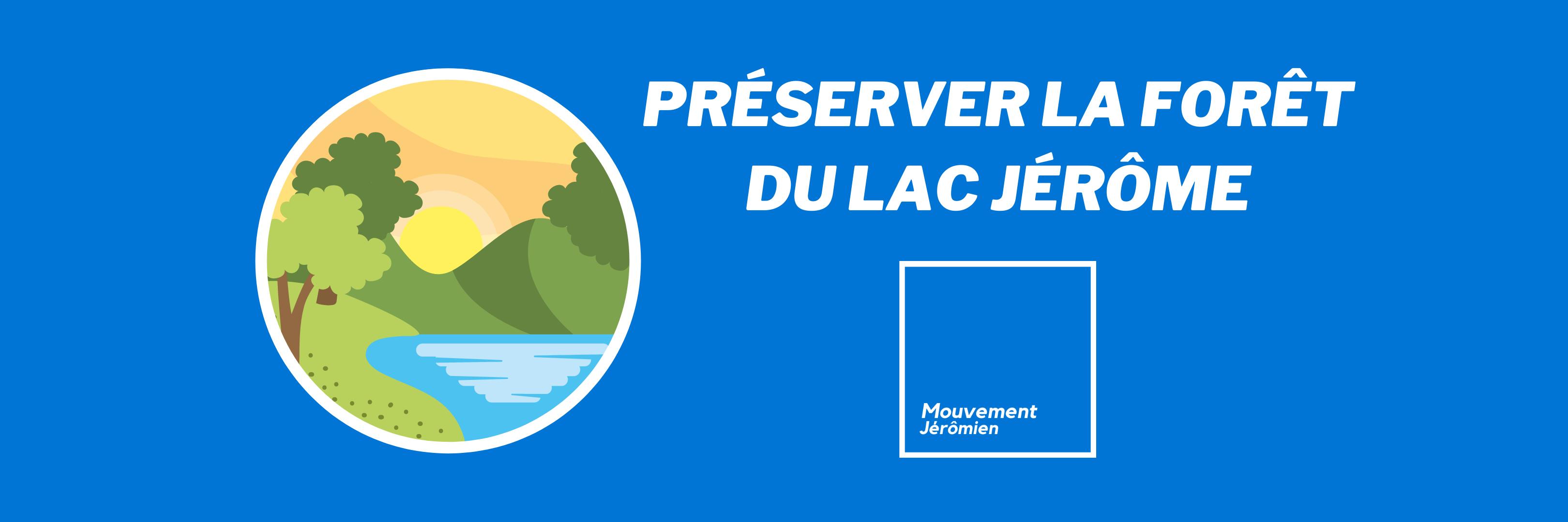 Jessica Riggi se joint au Mouvement Jérômien: « Nous protégerons la forêt du Lac Jérôme »
