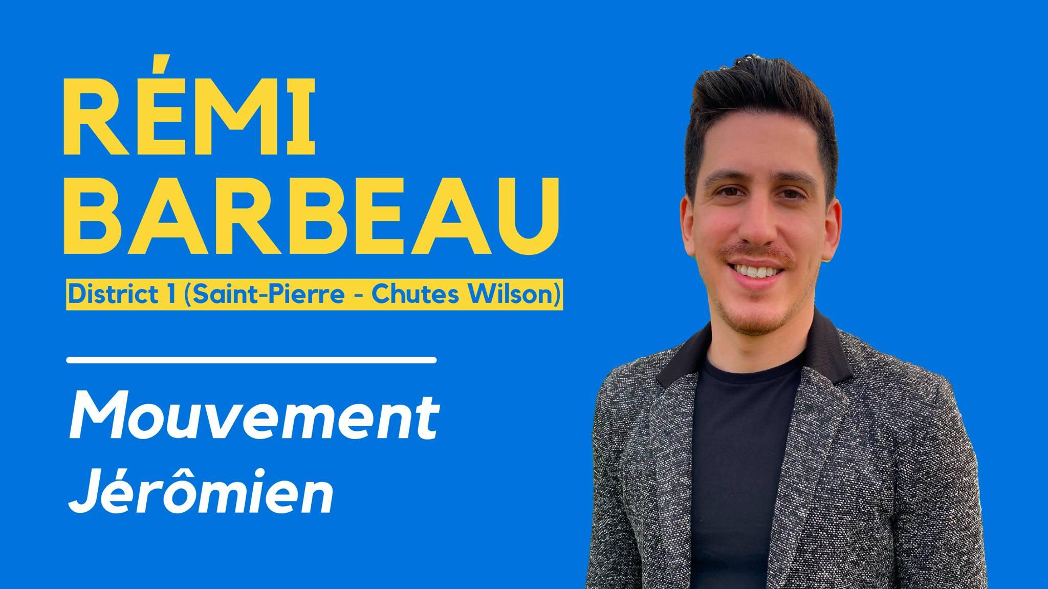 L'entrepreneur Rémi Barbeau se joint au Mouvement Jérômien!