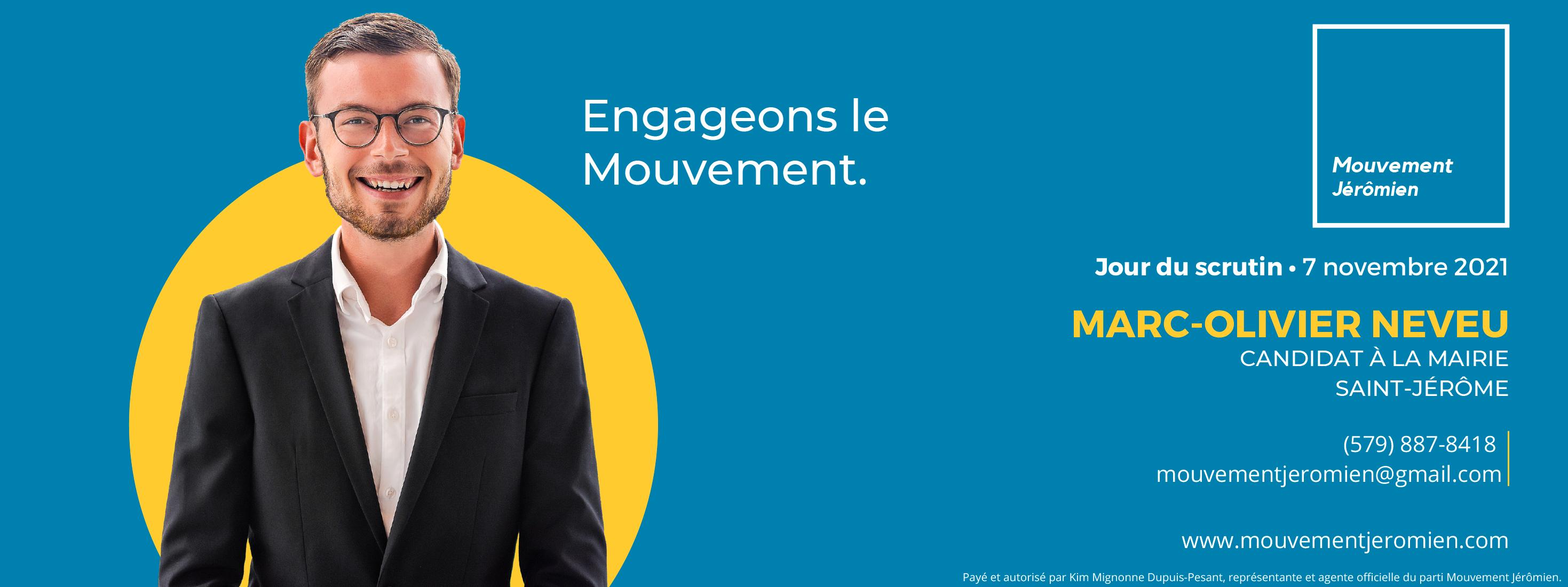 Marc-Olivier Neveu - Mouvement Jérômien
