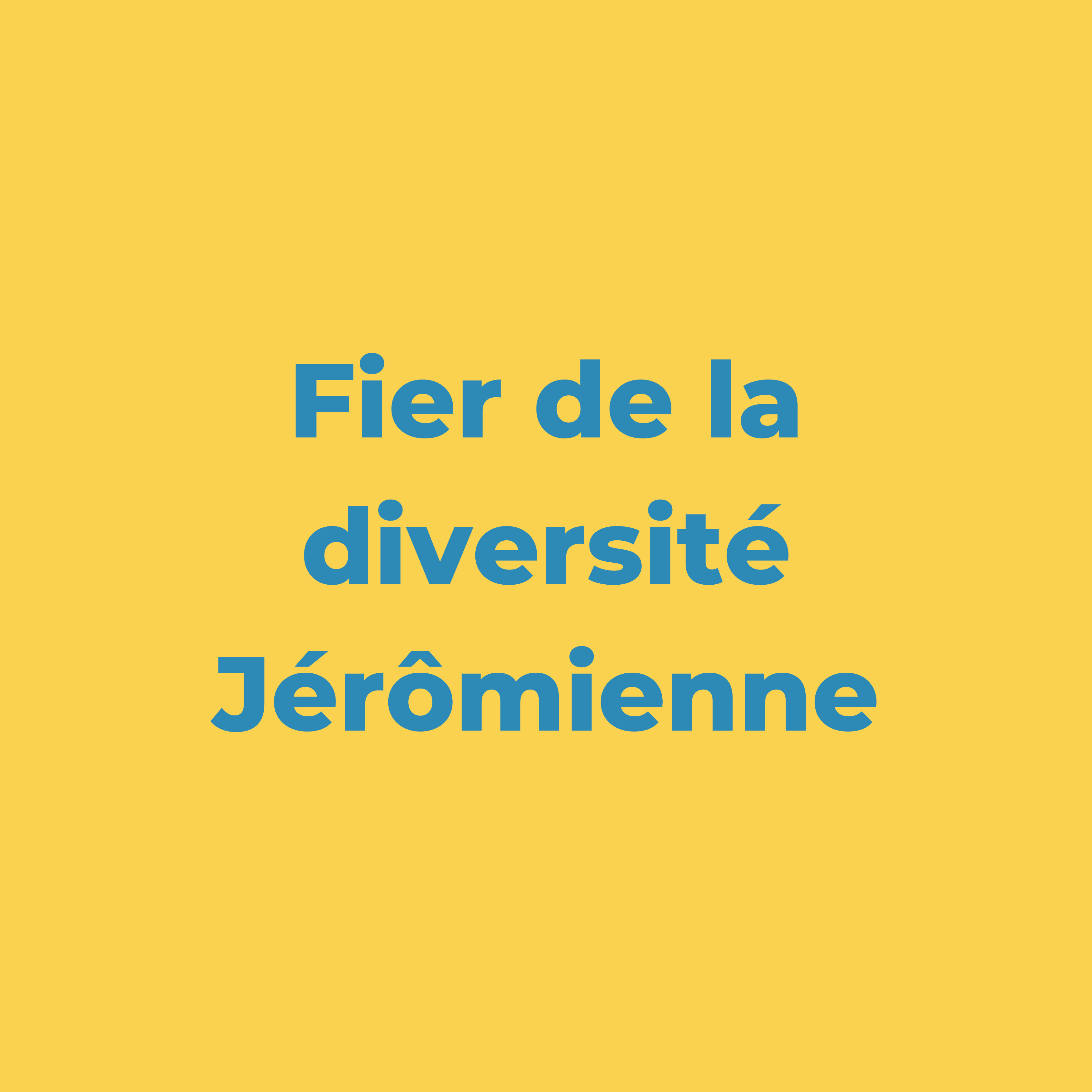 Mouvement Jérômien Fier de la diversité Jérômienne