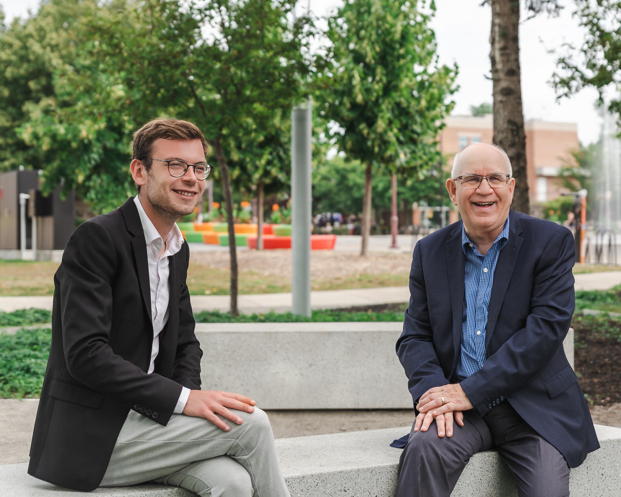 Marc-Olivier Neveu et Pierre-Paul Bourdages - Mouvement Jérômien