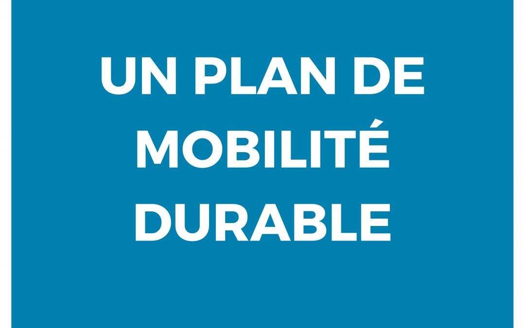 Pour un véritable Plan de mobilité durable